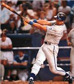 George Brett extend his hitting streak to 29 games