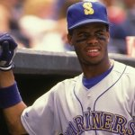 Ken Griffey Jr. of the Seattle Mariners makes his major league debut.