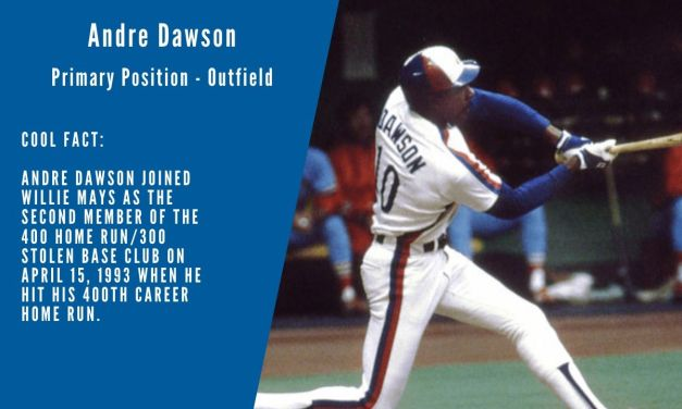 Andre Dawson Stats & Facts
