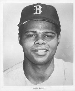 In the first game of a twin bill in Boston, switch-hitter Reggie Smith, in a 12-2 rout of the Angels, becomes the first Red Sox player to blast a home run from each side of the plate. Until today, the feat had never been accomplished by any Fenway Park batter.