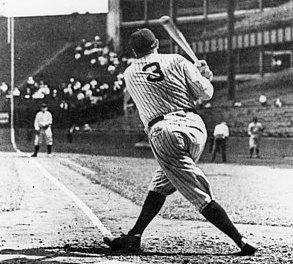 Babe Ruth slams the 700th home run of his career