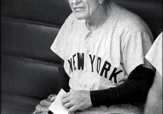 Casey Stengel replaces Bucky Harris – Leads Yankees to 5 straight Titles