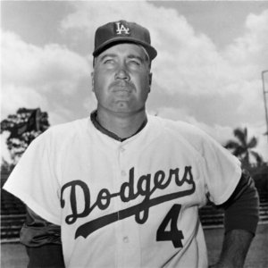 Duke Snider, Johnny Podres, and Don Zimmer suffer minor injuries in an auto accident in Vero Beach, Florida