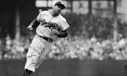 Duke Snider hits three home runs at Ebbets Field
