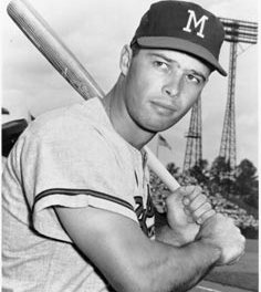 Houston Astros acquire Eddie Mathews from the Atlanta Braves