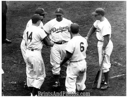 Jackie Robinson Debuts for the Brooklyn Dodgers
