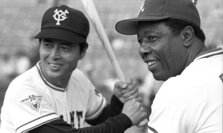 Sadaharu Oh of the Yomiuri Giants rips four home runs against the Hanshin Tigers, establishing a new Japanese League record for most home runs in a game