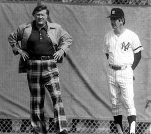 New York Yankees name Billy Martin as manager