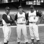 Pittsburgh Pirates play their first game in Three Rivers Stadium