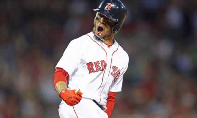 Mookie Betts signs for a record $20Million in arbitration