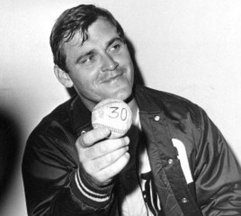 Commissioner Bowie Kuhn suspends Detroit Tigers pitcher Denny McLain for the third time on the season