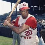 Frank Robinson hits first career homerun