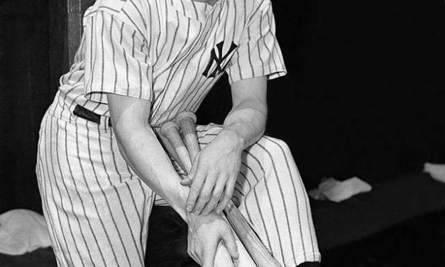 Joe DiMaggio inducted into the Hall of Fame along with Dazzy Vance, Ray Schalk, Ted Lyons, Homerun Baker and Gabby Hartnett