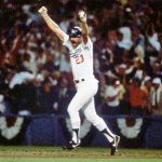 Kirk Gibson walks out of spring training