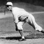 Herb Pennock locks up with Lefty Grove in 15 inning duel