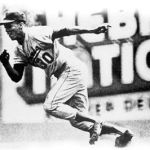 Maury Wills breaks Ty Cobb record for steals in a season