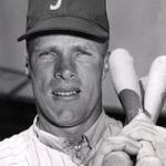 Richie Ashburn makes his debut – it is the first big league game he has ever attended