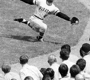 Pittsburgh Pirates great Roberto Clemente is inducted into the Hall of Fame in a special election