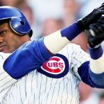 Sammy Sosa hits his 61st and 62nd home runs of the season against the Milwaukee Brewers