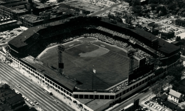 To get a rental increase from their Sportsman's Park's tenants, the Browns move to evict the Cardinals. The Redbirds accuse the owners of breaking the lease, and as the season approaches, it is uncertain where the National League team will play its home games.