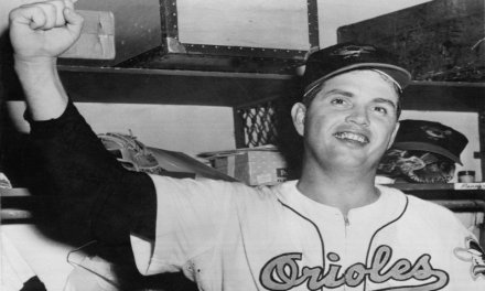 Baltimore Orioles catcher Joe Ginsberg ties a major league record set only six days earlier by allowing three passed balls in one inning