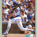 ANDRE DAWSON Chicago Cubs SIGNED 8x10 Photo