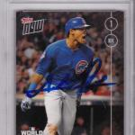 Addison Russell Chicago Cubs 2016 Topps Now #651 Signed Card - PSA/DNA Certified