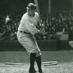 Babe Ruth of the New York Yankees hits his 137th career home run, moving past fellow Hall of Famer Roger Connor
