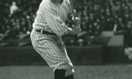 Babe Ruth hits the final three home runs – numbers 712, 713 and 714