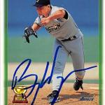 Billy Wagner autographed Baseball Card (Houston Astros) 1997 Topps #22 All Star Rookie Cup