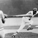 St. Louis Cardinals ace Bob Gibson suffers a broken leg