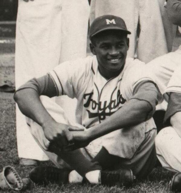 19-year-old Roberto Clemente signs with the Brooklyn Dodgers