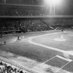 In Cincinnati, the Cardinals beat the Reds, 8-6,at Crosley Field for the latest finish in MLB history at 12:02 a.m