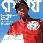 Frank Robinson Autographed Sport Magazine Cover Cleveland Indians Beckett BAS #F21309 - Beckett Authentication