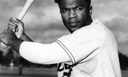 Jackie Robinson is named Rookie of the Year by The Sporting News two weeks before the season is over.