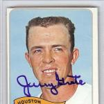 Jerry Grote Autographed 1965 Topps Card #504 Houston Astros #83469415 - PSA/DNA Certified