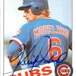 Keith Moreland autographed baseball card (Chicago Cubs) 1985 Topps #538