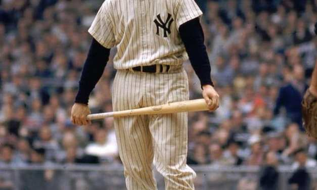 Mickey Mantle hits his final homerun of career