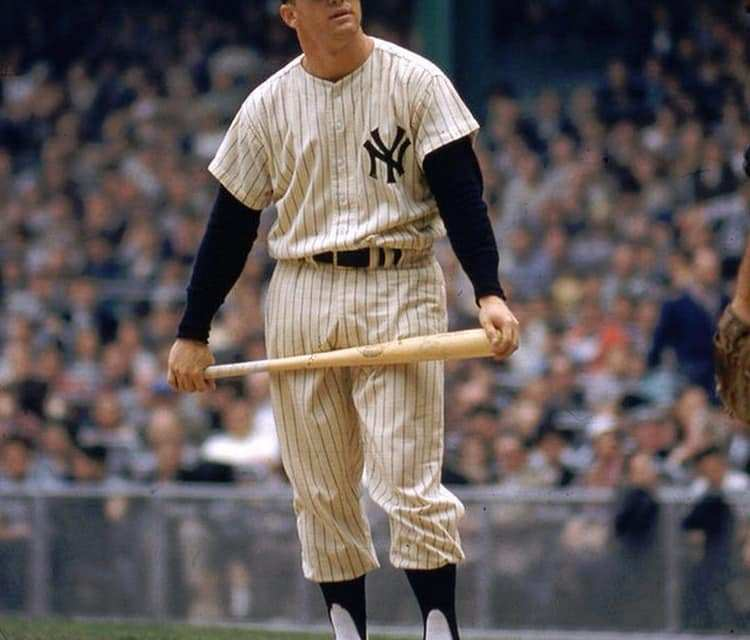 Mickey Mantle hits final home run, finishing his 18-year major league career third on the all-time home run list with 536 round-trippers behind only Babe Ruth and Willie Mays when he retires at the end of the season. The homer is given up by Jim Lonborg in a 4-3 loss to the Red Sox at Yankee Stadium.