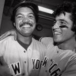 "Reggie Jackson earns the nickname ""Mr. October"" when he hits three consecutive home runs in Game Six of the World Series"