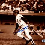Signed Willie Mays Picture - 8x10 660th Hr Beckett BAS #F87764 - Beckett Authentication