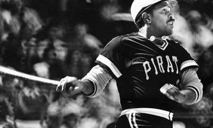 Willie Stargell of the Pittsburgh Pirates becomes the first player to hit a home run completely out of Dodger Stadium