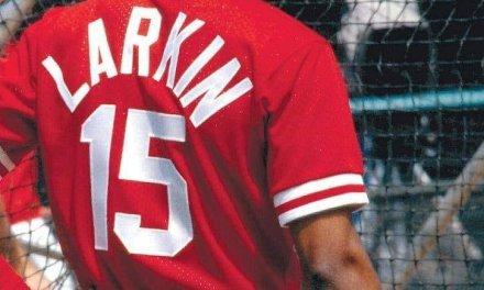 Reds' shortstop Barry Larkin wins the National League's Most Valuable Player award, with Colorado outfielder Dante Bichette and Atlanta right-hander Greg Maddux as the runners-up in a close election. The Cincinnati infielder, the first shortstop since Maury Wills in 1962 to cop the prestigious prize, provided excellent defense and batted .319 to help his team to capture the NL West Division.