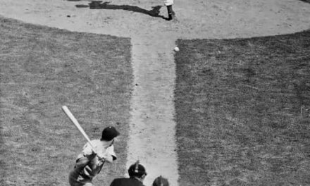 Babe Ruth homers in his national league debut vs Carl Hubbell