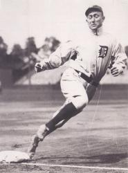 The Tigers top the Senators, 8 – 3, with Ty Cobb stealing home for the second time in his career. It comes in the 4th inning with Bob Groom on the mound.