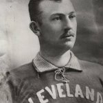Cy Young of the Cleveland Spiders wins the 500th game of his career
