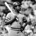 Hank Aaron's career with the Atlanta Braves comes to an end