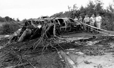 Thurman Munson of the New York Yankees is killed in the crash of his private plane in Canton, Ohio