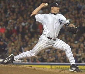 New York Yankees pitcher Roger Clemenswins the American League Cy Young Award for an unprecedented sixth time