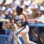 Billy Hatcher Houston Astros Signed 8x10